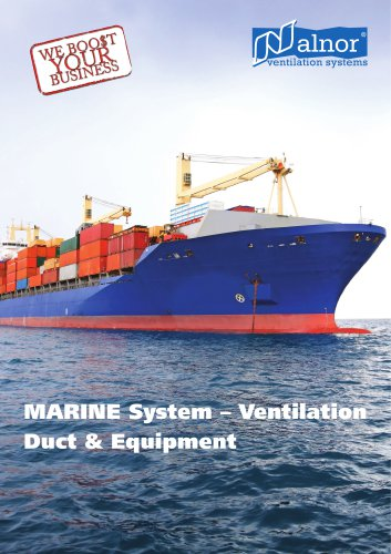 Marine venitlation equipment