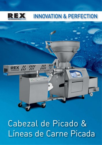 Cabezal de Picado & Lineas de Carne Picada