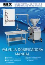 Válvula dosifaicadora manual - 1