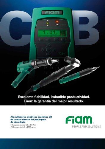 Atornilladores eléctricos brushless CB de control directo del par/ángulo de atornillado