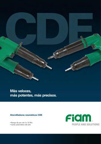 Atornilladores neumaticos CDE