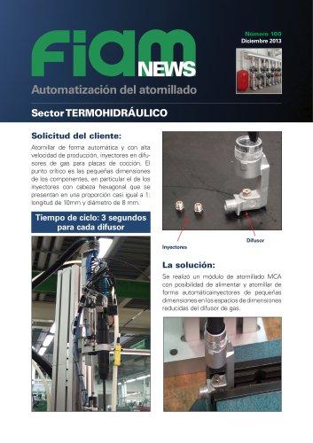 Atornillar inyectores de difusores gas