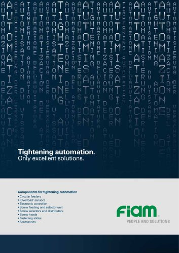 Components for tightening automation