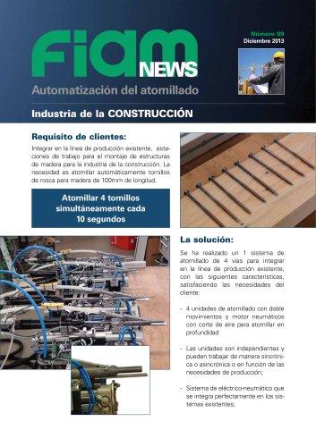 Montaje estructuras de madera para la industria de la construcción