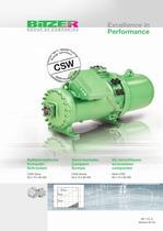Semi-hermetic Compact Screws - CSW Series  SP-172-3