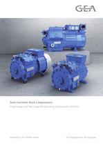 Semi-hermetic Bock Compressors