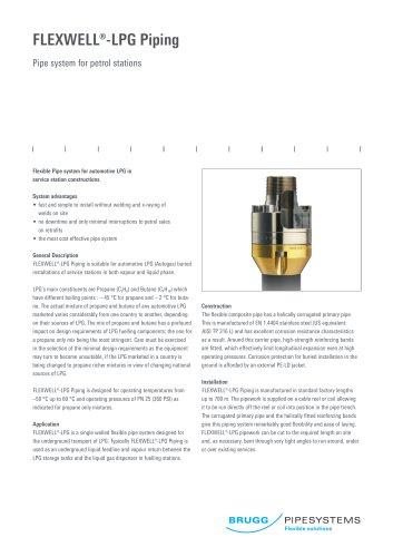 Flexwell-LPG Piping