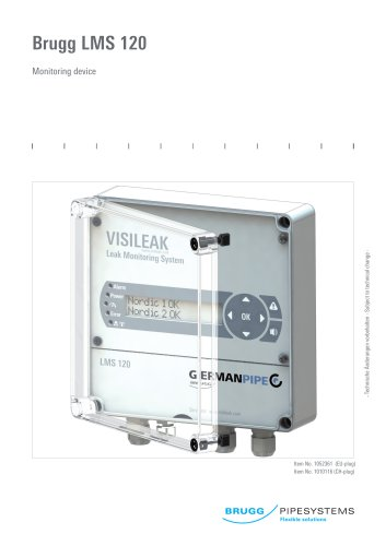 LMS 120 Monitoring device