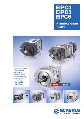 High Pressure Internal Gear Pumps EIPC 3,5,6