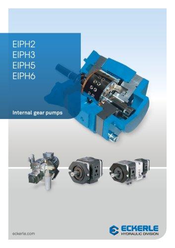 High Pressure Internal Gear Pumps EIPH 2,3,6
