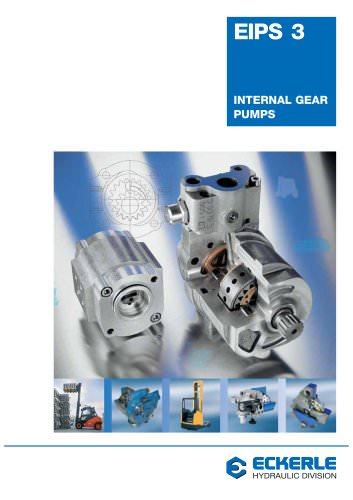 High Pressure Internal Gear Pumps EIPS 3