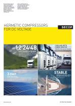Secop DC Voltage Compressors