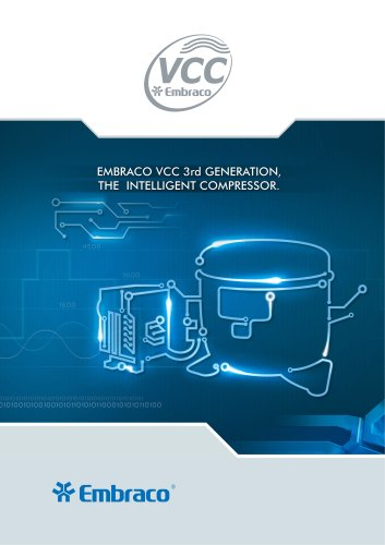 VCC Household Application (3rd Generation) for R 134a and R 600a