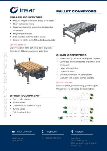 INSAR Conveyors