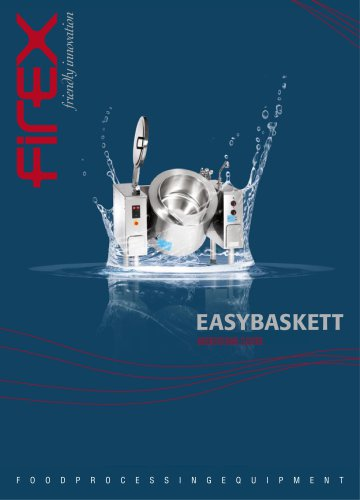 Boiling cooking machine - Easybaskett
