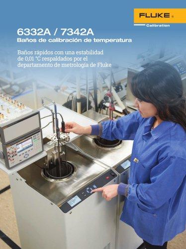 6332A / 7342A Baños de calibración de temperatura