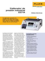 Calibrador de presión industrial 2271A