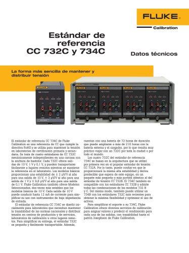 Estándar de referencia CC 732C y 734C