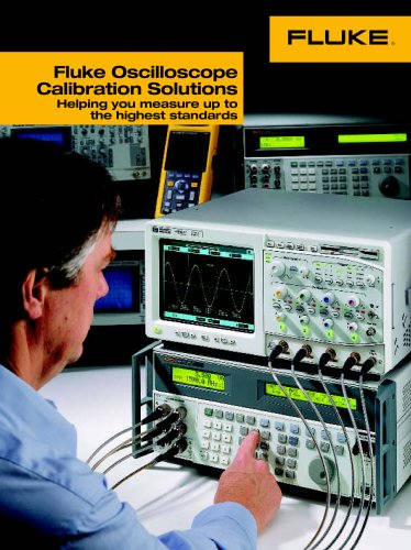 Fluke Oscilloscope Calibration Solutions