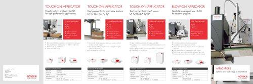 Applicators product brochure