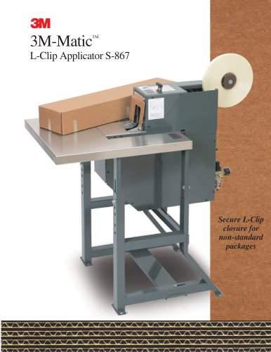 3M-Matic L-Clip Applicator S-867