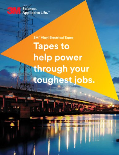3M™ Vinyl Electrical Tapes
