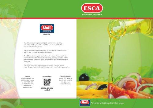 Food grade              lubricants