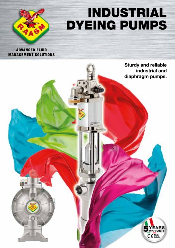 Industrial dyeing pumps