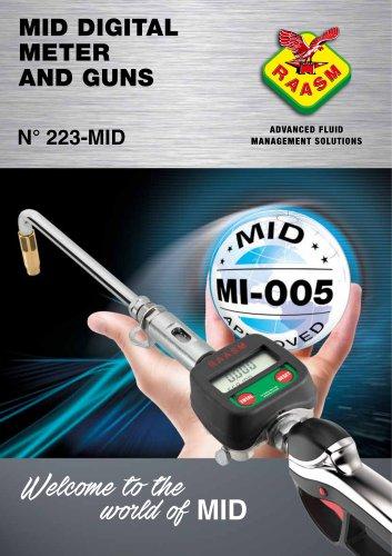 Mid digital meter and guns