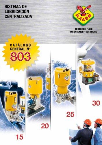 Sistemas de lubricación centralizada - Catálogo general