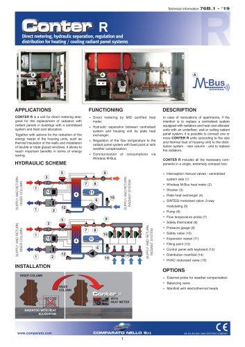 CONTER R hydraulic interface unit