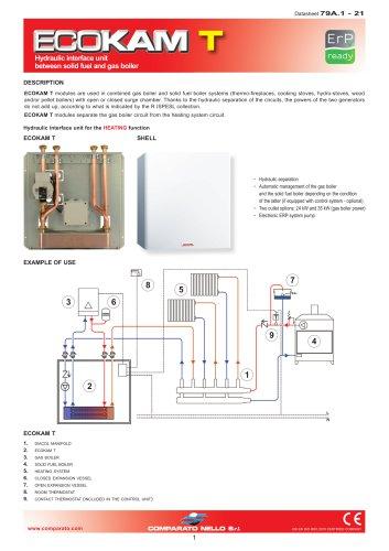 ECOKAM T hydraulic interface unit