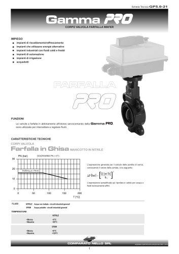 PRO RANGE butterfly valve