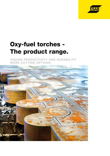 Oxy-fuel torches