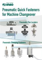 Pneumatic Quick Fasteners for Machine Changeover