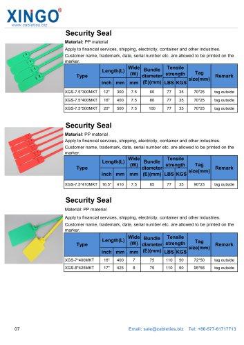 Security seal 2-XINGO