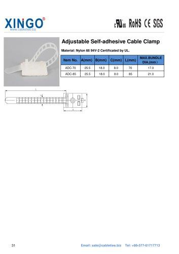 Xingo-Adjustable Self-adhesive Cable Clamp