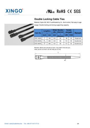 Xingo-Double Locking Nylon Cable Ties