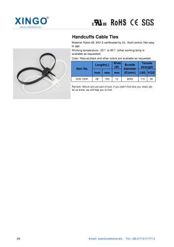 Xingo-Handcuffs Nylon Cable Ties