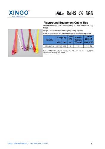 Xingo-Playground Equipment Nylon Cable Ties
