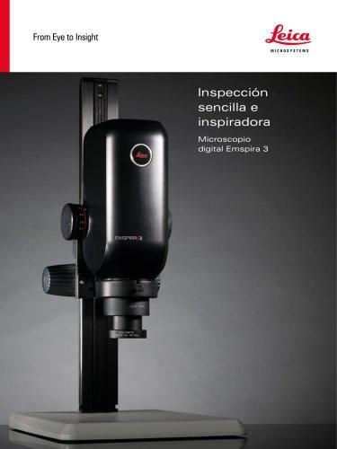 Inspección sencilla e inspiradora - Microscopio digital Emspira 3