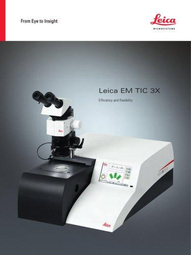 Leica EM TIC 3X