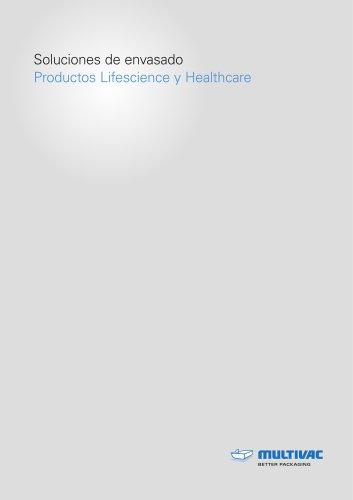 Soluciones de envasado Productos Lifescience y Healthcare