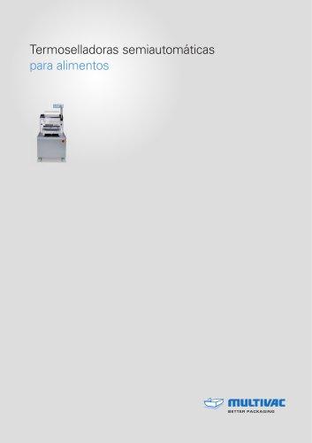 Termoselladoras semiautomáticas