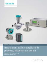 Instrumentación y analítica de proceso, sistemas de pesaje - 1