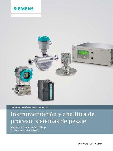 Instrumentación y analítica de proceso, sistemas de pesaje