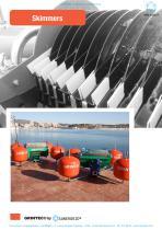 Skimmer contra polucion marina