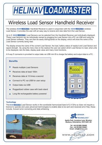 HeliNav LoadMaster Handheld Receiver