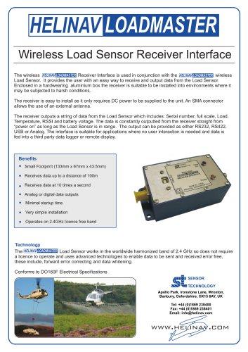 HeliNav LoadMaster Receiver Interface