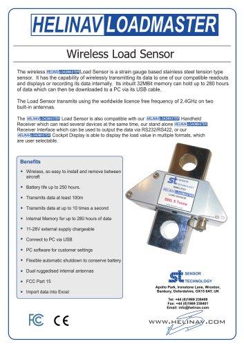 HeliNav LoadMaster Wireless Load Sensor